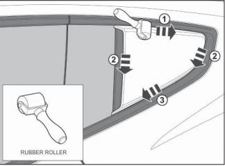 How To Install Mustang Roush Quarter Window Scoops - How To Install Mustang Roush Quarter Window Scoops