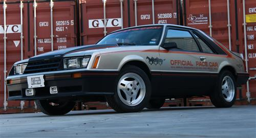 Fox Body Pace Car - Fox Body Pace Car